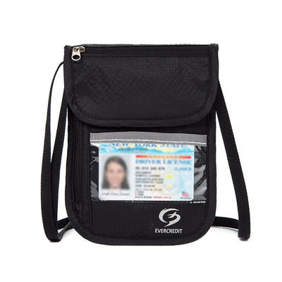 Neck Travel Wallet Lightweight Neck Pouch for Men and Women