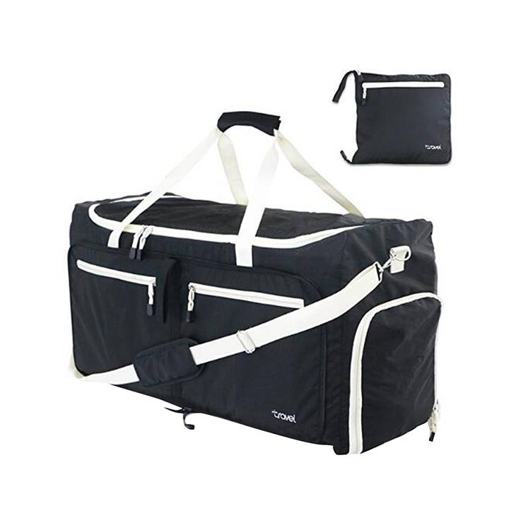 Nylon 85L Foldable Travel Duffel Bag Sports Gym Bags