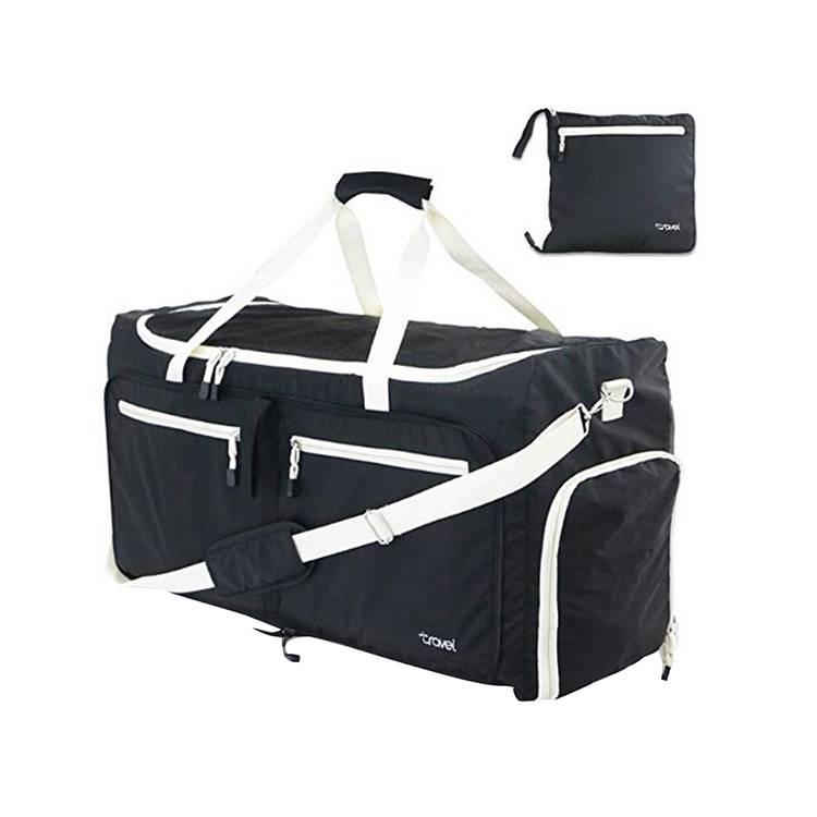 Nylon 85L Foldable Travel Duffel Bag Sports Gym Bags