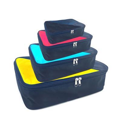 4 Set Packing Cubes Travel Luggage Packing Organizer